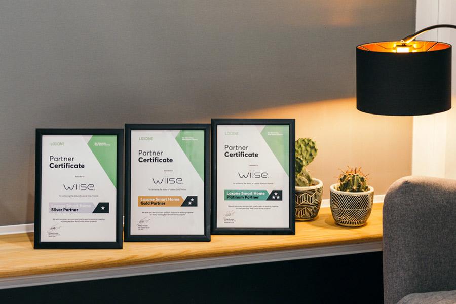 wiise - smart home installation loxone platinum partner